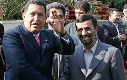President Chavez has described the Teheran regime as a strategic ally