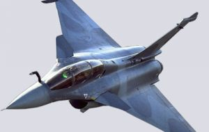 The Rafale fighter bomber which Brazil is interested in, including avionics