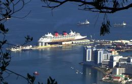 Almost 380.000 cruise visitors will be calling in Gibraltar this season