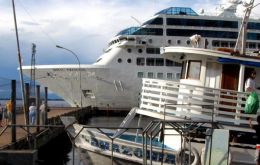 Most Argentine cruise passengers prefer the Brazilian coast