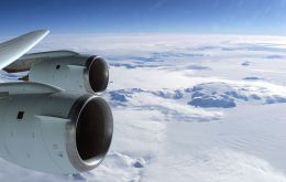 During six weeks NASA largest airborne lab will be flying over Antarctica