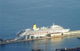 In August cruise visitors to the Rock increased 36% over a year ago