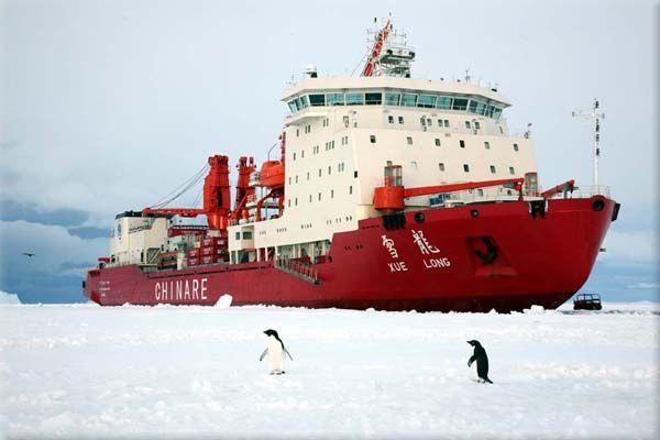 La 4ème équipe d'expédition chinoise va partir pour le pôle nord