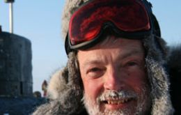 Peter Wadhams, Professor of Ocean Physics and Head of the Polar Physics Group