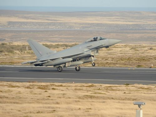 Falklands' confirmed as first overseas deployment for Typhoons