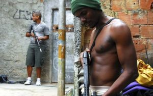 Opposition and the Supreme Court are demanding swift action to clean the favelas from drug related gangs