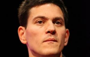British Foreign Secretary, David Miliband