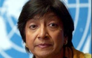 "Navi Pillay reminded Lula da Silva that torture is ""a crime against humanity"""