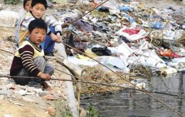 According to official data 90% of Chinese rivers are polluted