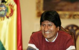 The first indigenous president of Bolivia can feel safe at the ballot box but not in the air