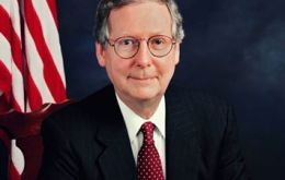 "Top Republican Senator Mitch McConnell said ""the fight is long from over""."