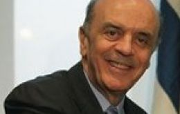 Governor Jose Serra second chance to the Brazilian presidency