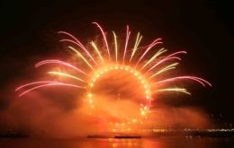 London's fireworks will be held at the London Eye