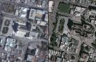 Before and after scenes of Port-au-Prince help with damage assessment