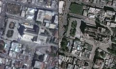 Haiti Earthquake Destruction Before And After