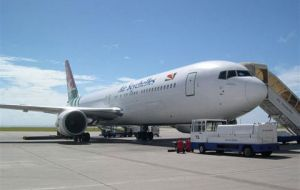 The company has a long experience with Boeing 767s and flying to island locations
