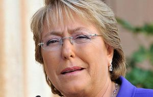Political disregard for defence contributed to erode democracy said President Bachelet