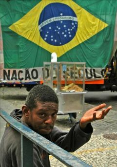 70 million Brazilians subsist on government subsidies