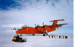 British Antarctic research has a decades-long established link with the Falklands