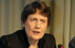 Helen Clark, Administrator of the UN Development Program