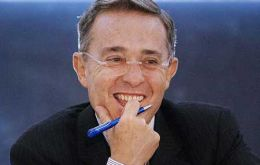 Alvaro Uribe, the Latinamerican president with the highest sustained public opinion support