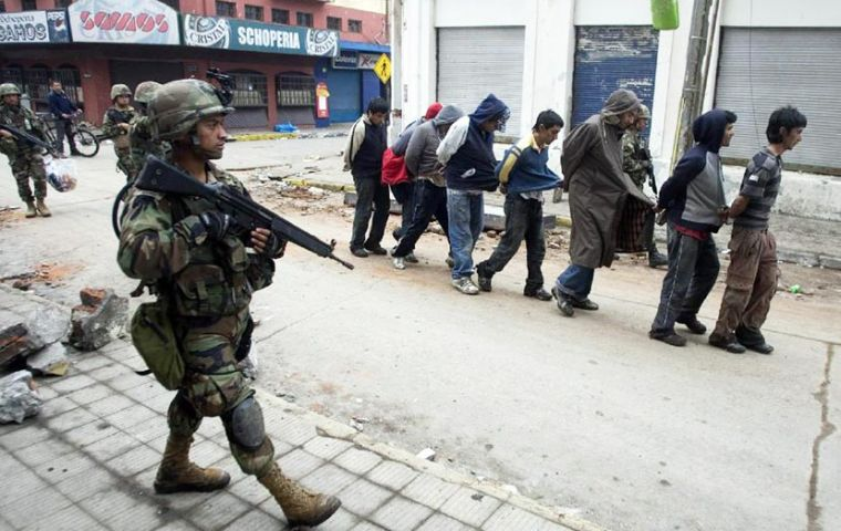 Situation getting out of control in Chile's second largest city