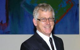 Dick Sawle, most voted member of the Falklands Legislative Assembly
