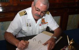 Commander Mariano Rojas takes the blame until the full investigation is completed