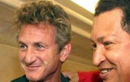 Sean Penn a strong supporter and defender of the Venezuelan leader