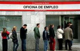 Spain has the highest unemployment in the Euro zone
