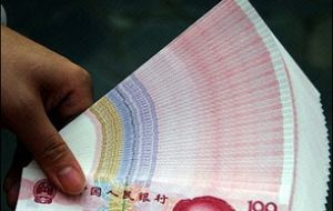 Some countries complain the Chinese Yuan is undervalued 20%