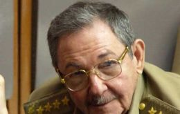 "On Sunday Raul Castro said Cuba will not be ""blackmailed"" by hunger strikers"