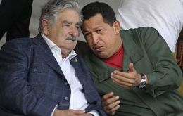 Uruguayan president Mujica is a long time friend of Chavez