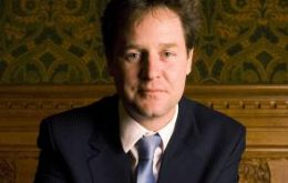 "Nick Clegg ready to break stalemate of a ""hung"" parliament"
