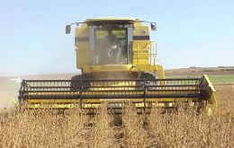 Farmers preparing for a two million tons soy harvest