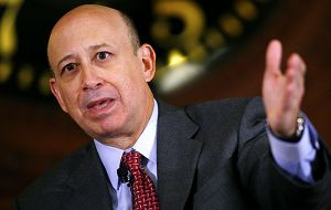 "CEO Lloyd Blankfein, ""one of the worst days in my professional life"""