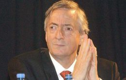 "Nestor Kirchner ""the man who runs the show"" according to financial analysts"