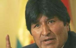 "Evo Morales would like to see Bolivia declared ""a territory free of transgenic seeds"""