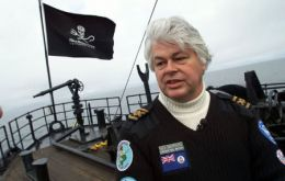 Paul Watson, founder and president of Sea Shepherd