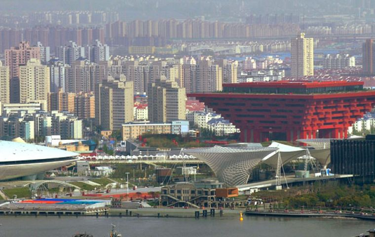 Shanghai expects 70 million visitors during the Expo