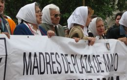 "Mothers of Plaza de Mayo took to the streets to find their children, ""and in the process found and built democracy"""