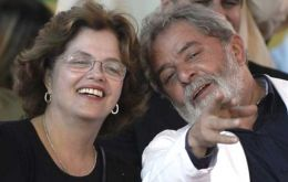 Incumbent candidate has had difficulties with opinion polls in spite of Lula da Silva's extraordinary popularity