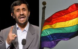 "President Mahmud Ahmadinejad has stated there are ""no homosexuals in Iran"""