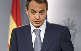 Spanish Prime Minister Jose Luis Rodriguez Zapatero, a man with few problems