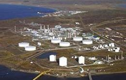 The Methanex plant in Punta Arenas avid for natural gas