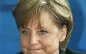 Bad Sunday for Chancellor Angela Merkel