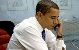 President Obama was on the phone with Spain's Rodriguez Zapatero