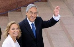 Piñera`s first official incursion to Europe