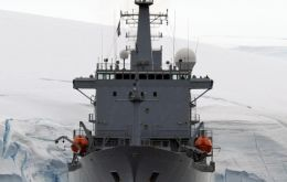 HMS Scott completed operations in Antarctica