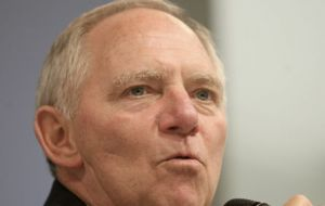 "German Finance minister Wolfgang Schaeuble: ""This (unregulated) hole will now be closed."""